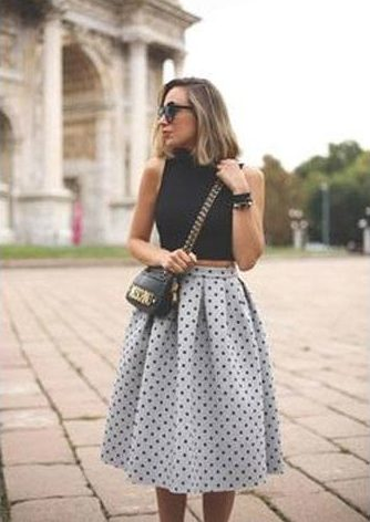 Polka dotted lass