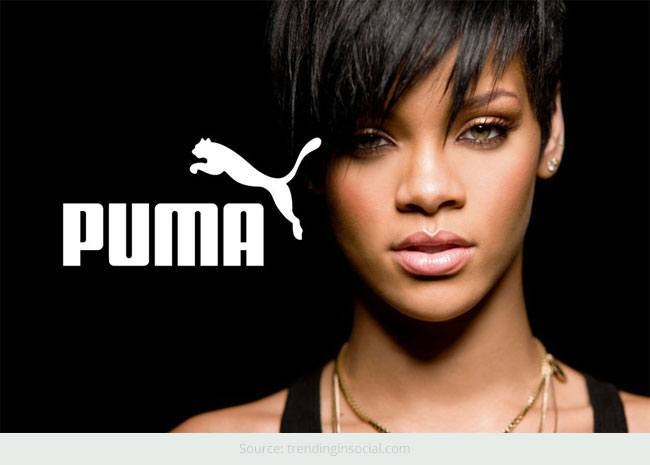 Rihanna - The New Face Of PUMA