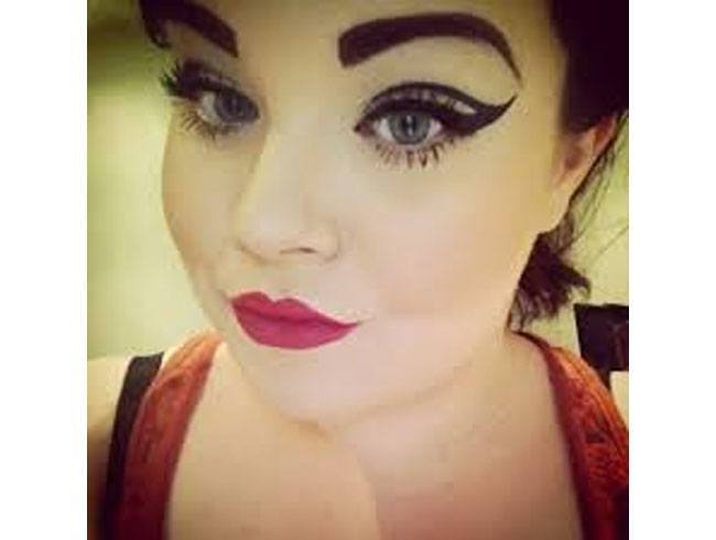 Rounded Eyebrows