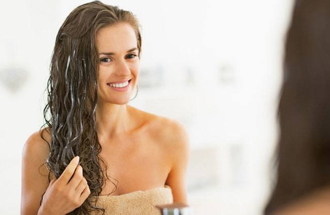 Seal Your Hair Follicles with Conditioner
