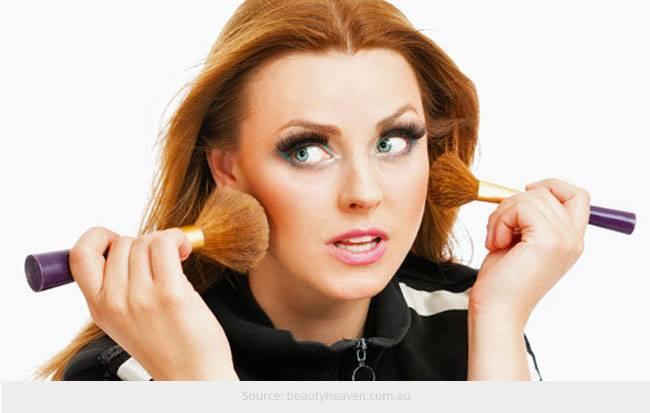 Six Makeup Nightmares Every Girl Deals With