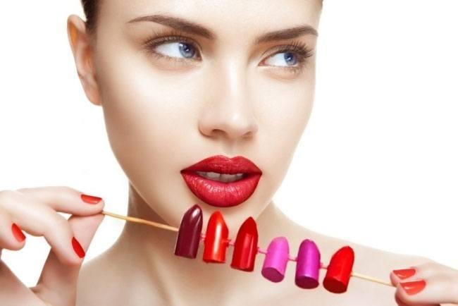 Wear bright lipsticks pinks