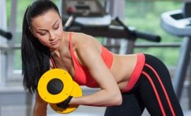 Bench exercises for women