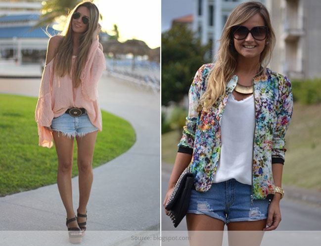 fashionable Combinations with Shorts