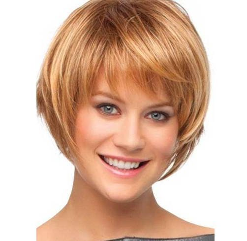 Flirty short bob hairstyles