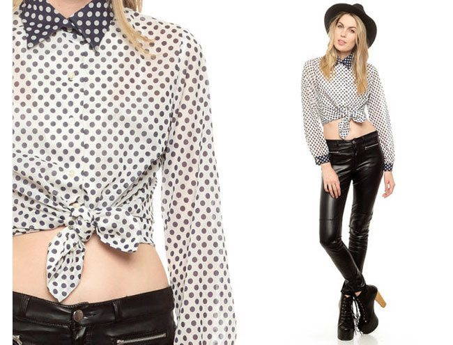 cute collar, necktie or belt combo