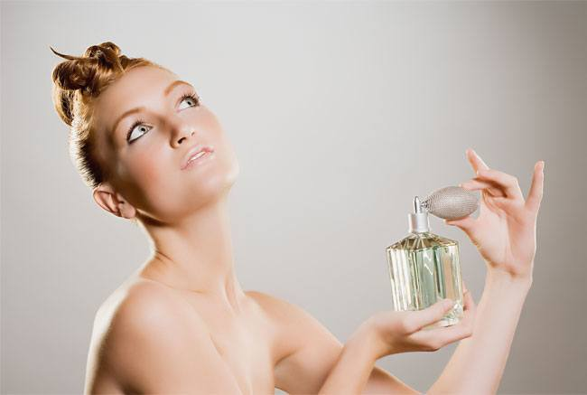 1. Always apply perfume before you slip on your dress