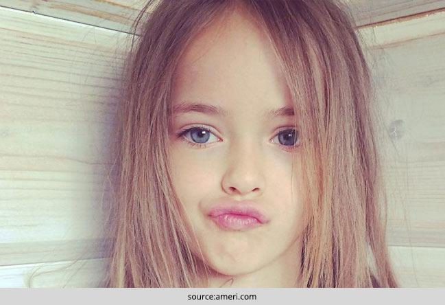 9-Year Old Kristina Pimenova is World's Most Beautiful Girl