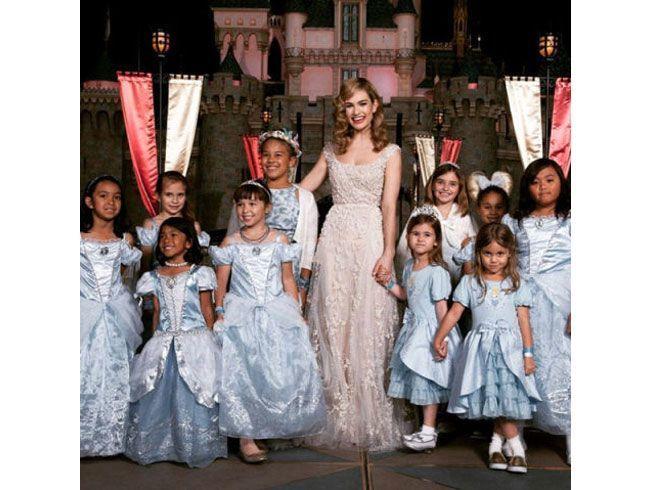 At Disney Land