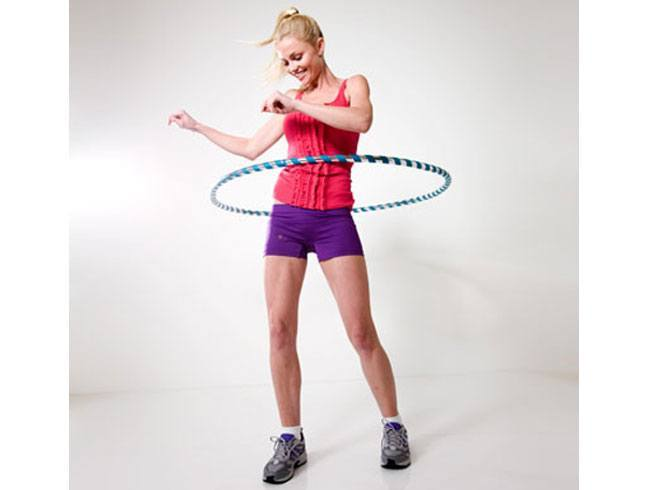 Basic hula hooping