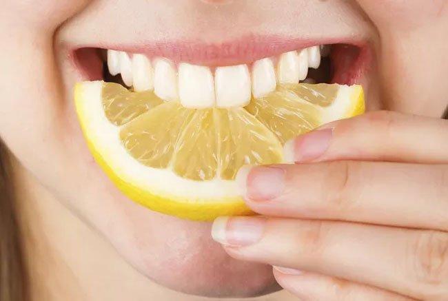 Benefits of Lemon as a Teeth whitener