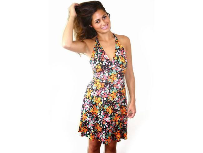 Floral Rush Skater Dress