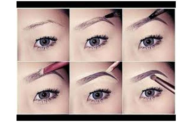 Eyebrow Makeup Tips Step Tutorial