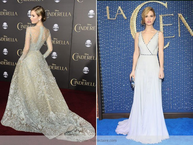 Lily James had Real Life Cinderella Moments
