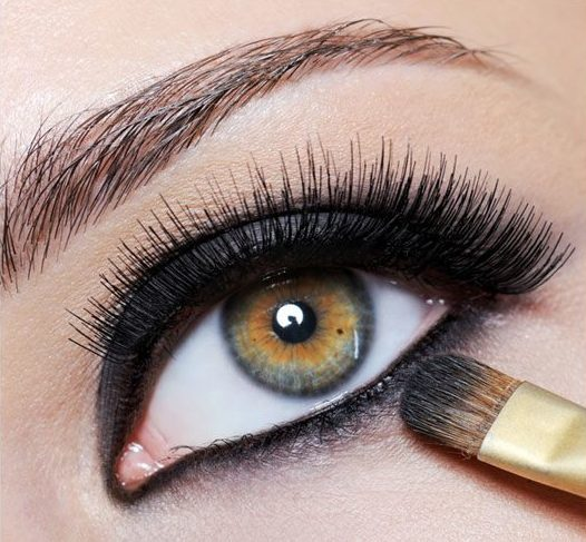 Mascara and Liquid Eyeliner