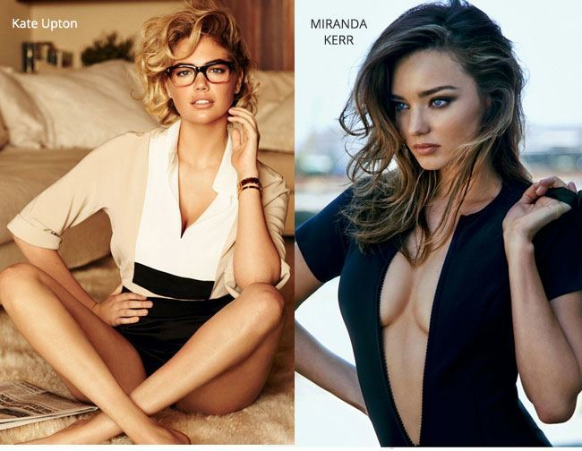 Miranda Kerr and kate upton