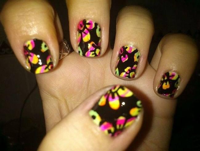 Nail Art Flower Designs for Beginners