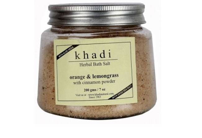 Khadi Lavender & Basil Herbal Bath Salt