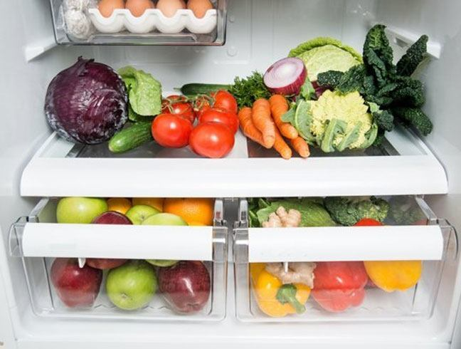 Pile up those veggies and fruits in your refrigerator