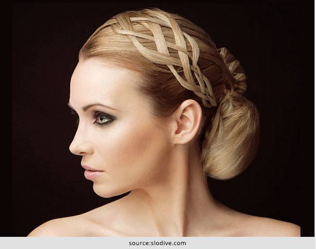 Pretty Knotted Hairstyles for Long Hair