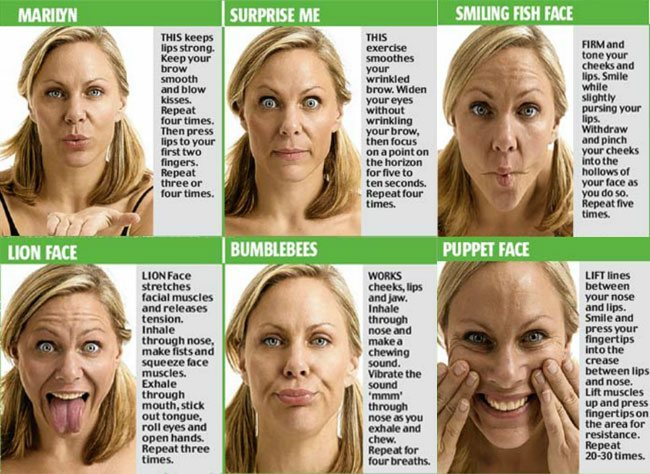Reduce Face Fat Quickly