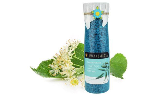 Soulflower Tea Tree Bath Salt