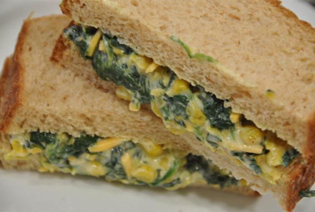 Spinach Sandwich