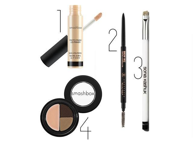 Supplies you will need for eyebrow makeup -