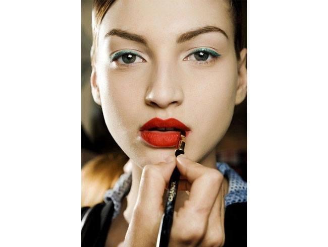 Use a lip brush