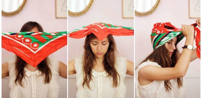 Wrap a silk scarf around your head before hitting your sack