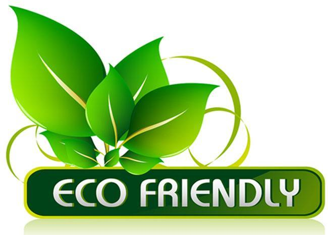 eco friendly aka vegan