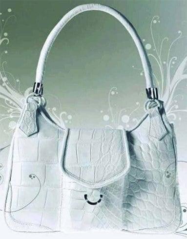 Hilde Palladino expensive handbag