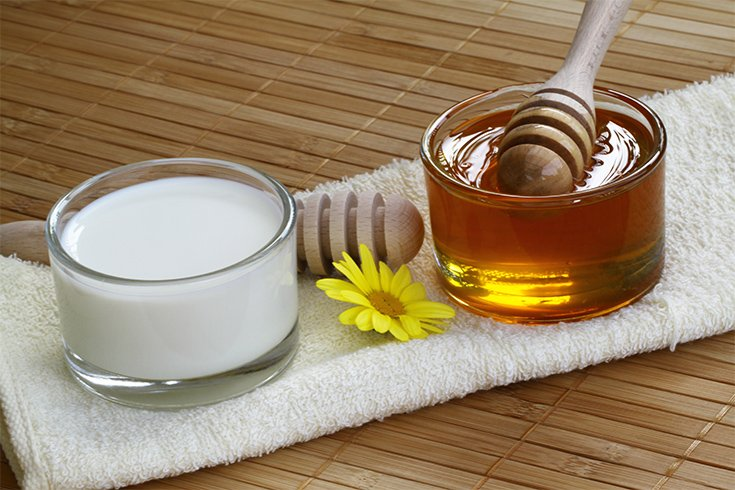 Honey Milk Hair Mask