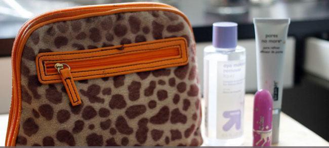 makeup travel packs