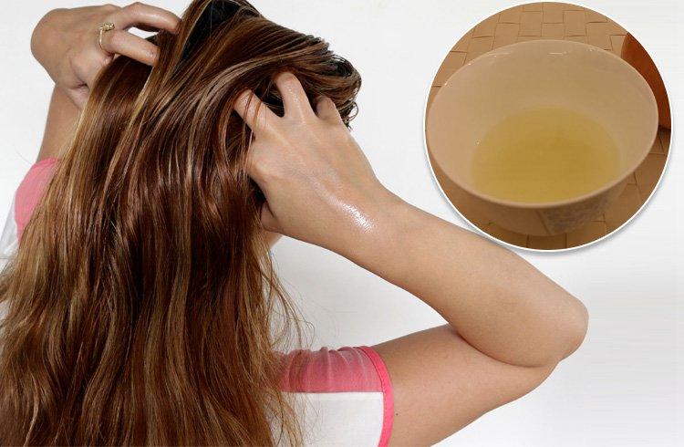 Onion Juice Massage