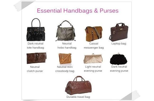 wardrobeessentials bags