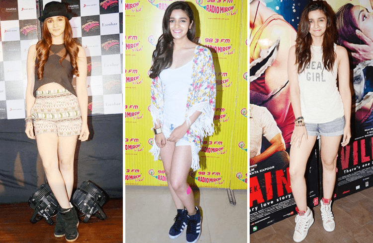 Alia Bhatt in Short Dress
