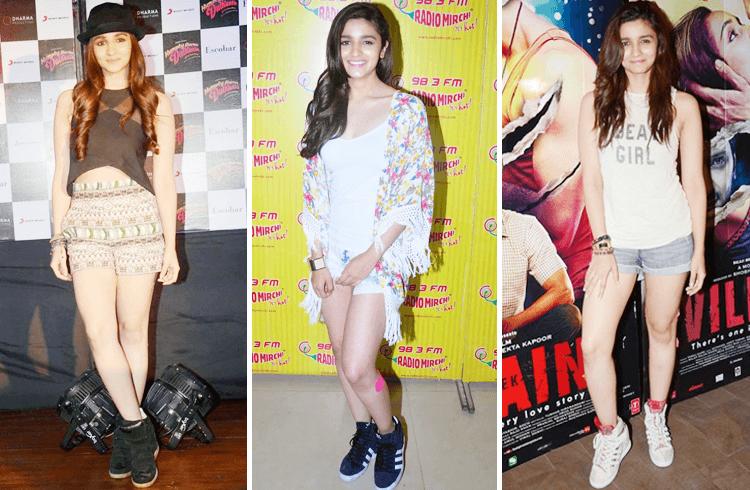Alia Bhatt in Short Dress