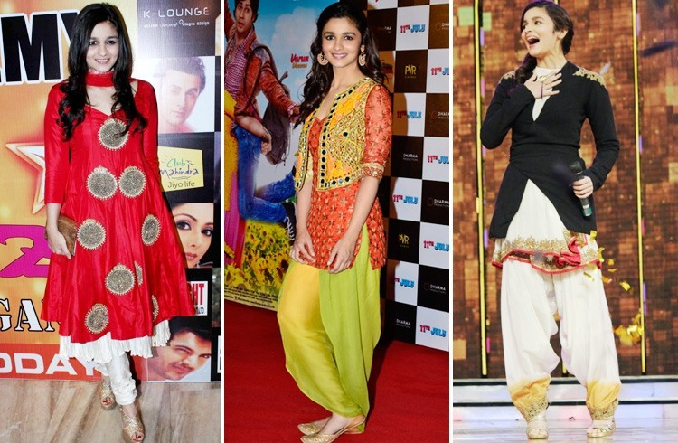 Alia in Traditional Outfit