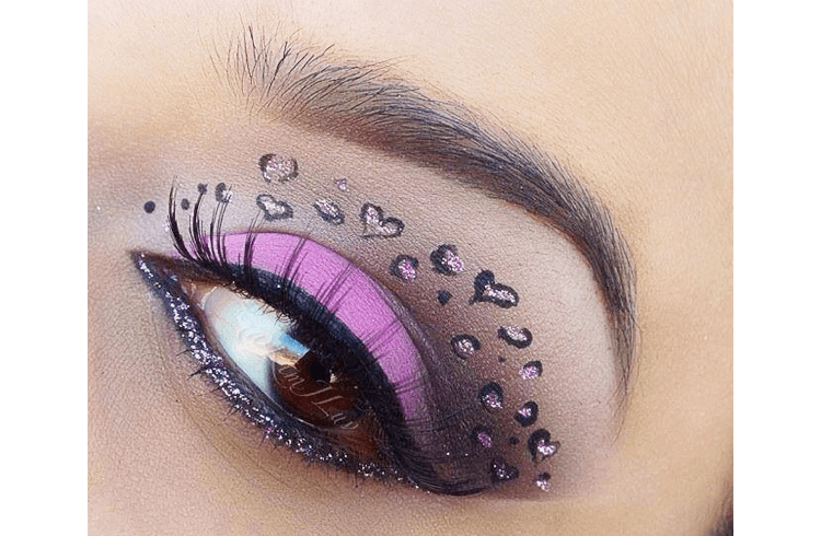Animal Eye Makeup
