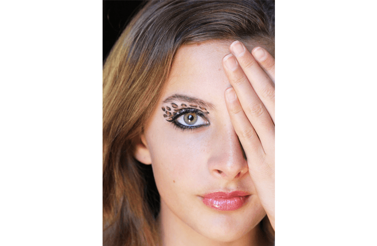 Animal Print Eye Makeups
