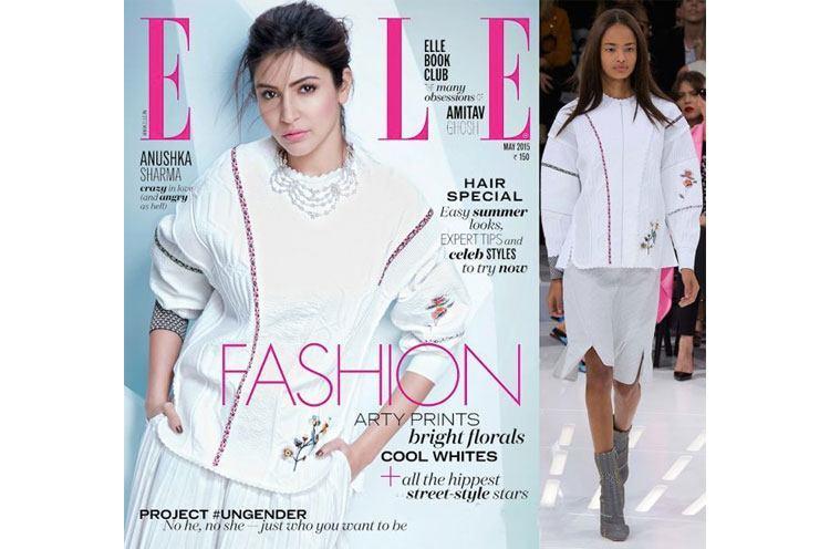 Anushka Sharma Covers Elles