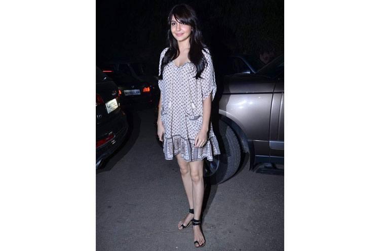 Anushka Sharma is -Fun yet chic
