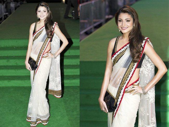 Wear saree to look slim