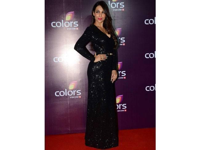 Malaika Arora Khan At Colours TV Annual Party 2015