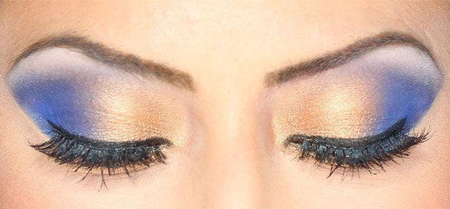 Avoiding Blue Shadows for blue eyes