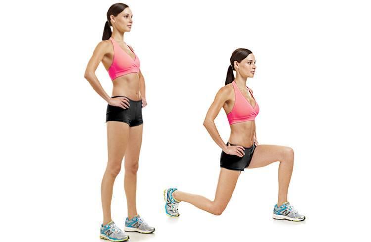 Back or Rear Lunge
