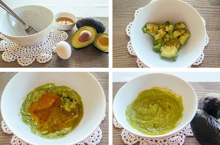 Benefits of Egg Mask with Avocado