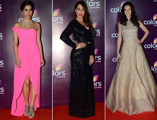 Bollywood Celebs At Colours TV Annual Party 2015