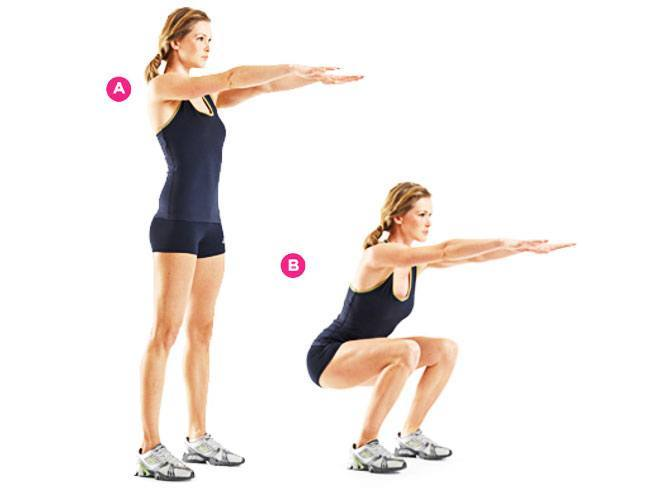 Bodyweight Squat Exercise To Strengthen Your Legs
